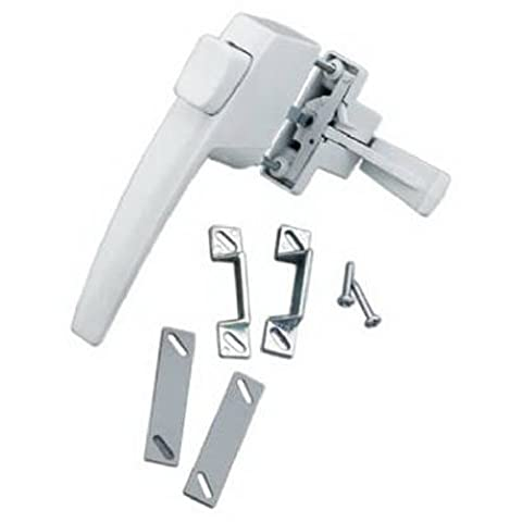 HAMPTON PRODUCTS-WRIGHT - White Hanging Push Button Latch