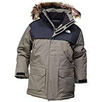 The North Face TNF - Chaquetas, Niños, Verde (New Taupe Green), XL
