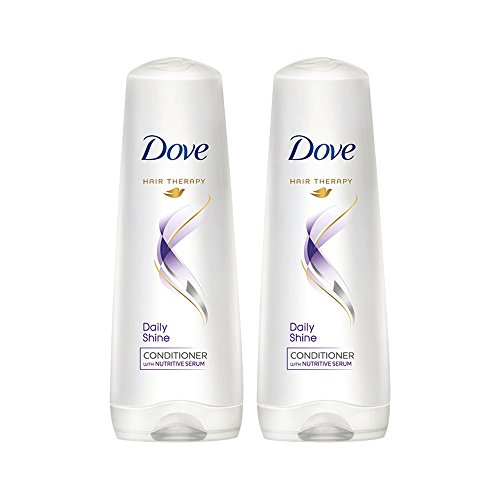 Dove Daily Shine Conditioner, 180ml (Pack of 2)