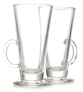 Eddingtons Latte Glasses, Set of 2