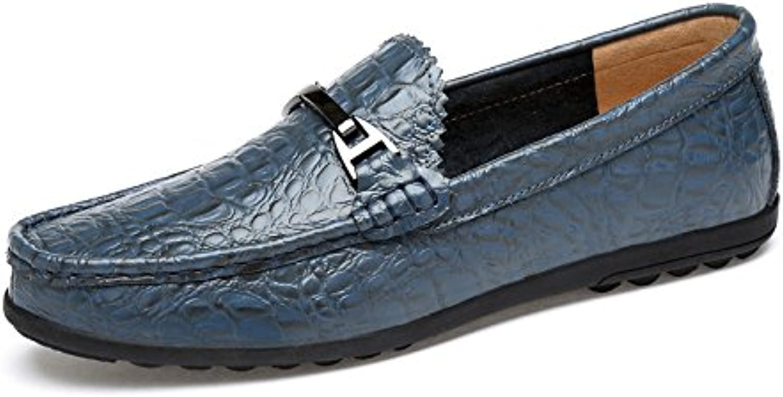 Zapatos De Guisantes Hombres Zapatos De Cuatro Estaciones Zapatos De Hombre De Pie