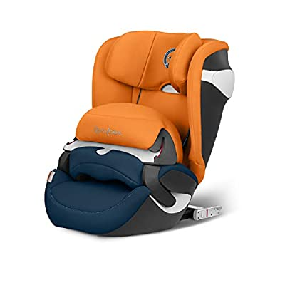 CYBEX Gold Juno M-Fix Child's Car Seat, For Cars with and without ISOFIX, Group 1 (9-18 kg), From approx. 9 Months to approx. 4 years, Tropical Blue