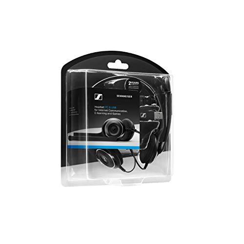 Sennheiser PC 8 USB Headset, schwarz - 8