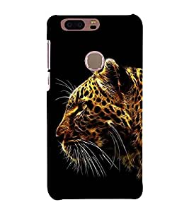 PrintVisa Angry Lion Face 3D Hard Polycarbonate Designer Back Case Cover for Huawei Honor 8
