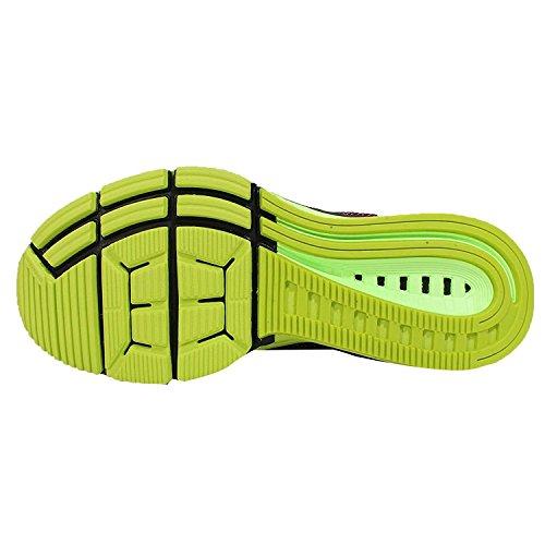 Nike Air Zoom Wmns Odyssey, nero / bianco-rosa Pow-fantasma verde, 6 Us BLACK/WHITE-PINK POW-GHOST GREEN