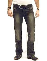 Energie Doré Pantalon Jeans Pour Hommes Slim Morris Usé