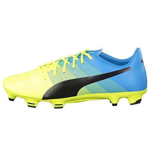 Puma Evopower 3.3 Fg Herren Fußballschuhe safety yellow-black-atomic blue