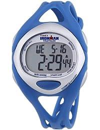 Timex Timex Ironman Sleek 50 Lap T5K760 - Reloj digital de cuarzo para mujer, correa de plástico color azul