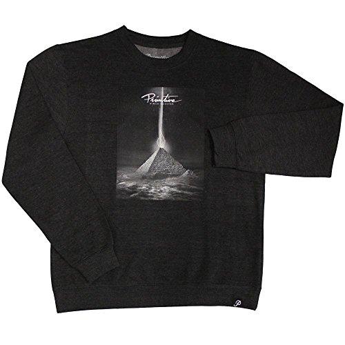 Primitive Apparel Pyramid Sweatshirt Charcoal