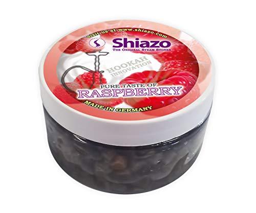 Shiazo - Sustitutivo de tabaco sin nicotina, frambuesa, en forma de piedrecitas, 100 gr, pack de 1 unidad...