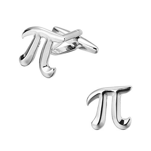 ODETOJOY 2pcs/set Pi 3.14 Math Gemelos Mens Gemelos