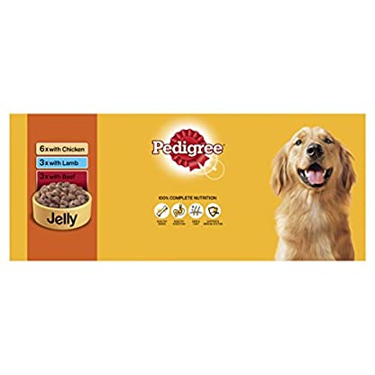 PEDIGREE Dog Food Can Jelly Selection 12 x 385 g (Pack of 2) 7