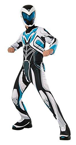 Generique Kostüm Max Steel für Kinder 110/122 (5-7 Jahre)