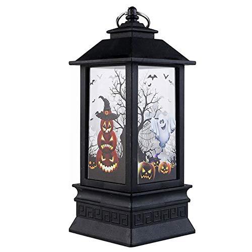 BESTEU Linterna de Halloween Decorativa llevó la Chimenea de Halloween en la...
