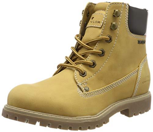 TOM TAILOR für Frauen Schuhe Schnür-Boots Camel, 41