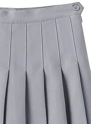 Futurino Damen A-Linie Rock X-Large Grau