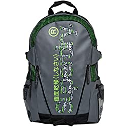 Superdry - Board Tarp Backpack, Hombre, Verde (Lime), 11x45x34 cm (W x H L)