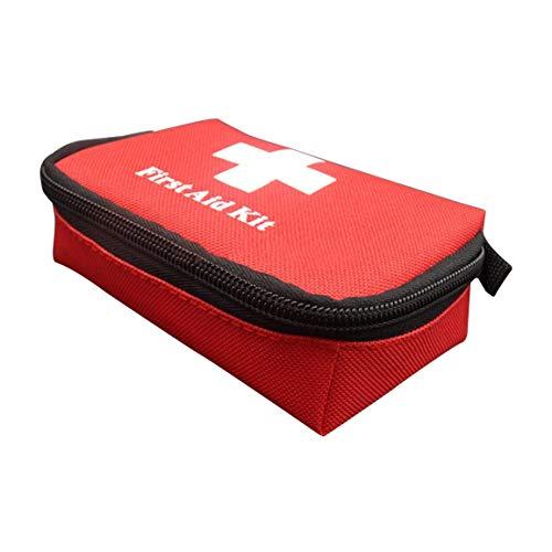 Scatola Primo Pronto Soccorso Kit 41 Pezzi Box Plastica Viaggio Emergenza Auto