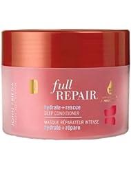 John Frieda Full Repair Masque Réparateur Intense Hydrate + Répare Cheveux Abîmés 250 ml Lot de 2 Modèle aléatoire