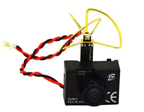 LHI FX797T 3-In-1 Super Mini 5.8G 40ch AV Video Transmitter TX 600TVL Mini Fpv Micro Camera Leaf Antenna Combo For QAV250 Quadcopter Multicopter - 5