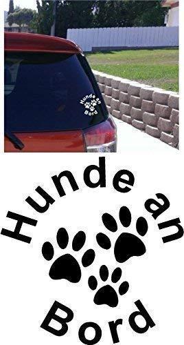 Online Design Hunde an Bord Auto-Aufkleber Deutsche Deutsche -