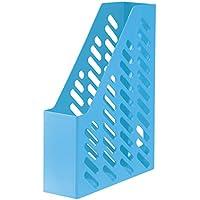 Han Klassik - Archivador con etiqueta (tamaño C4, 76 x 248 x 320 mm, 10 unidades), color azul claro