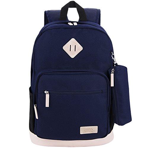 Imagen de  escolares, coofit  grande  de viaje casual bolso con estuches escolares para mujer y hombre