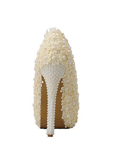 WSS 2016 Chaussures de mariage-Champagne-Mariage / Habillé / Soirée & Evénement-Talons-Talons-Homme 5in & over-us8.5 / eu39 / uk6.5 / cn40