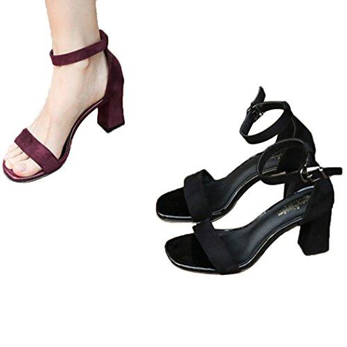 Sandales Pour Les Femmes En Vente, Noir, Cuir, 2017, 40 Eglises