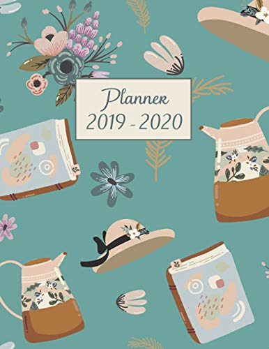 Planner 2019-2020: 8.5x11 Organizer for Academic Year | Weekly Vertical | To Do List | Notes | Scheduler| Soft Cover | Large Size |