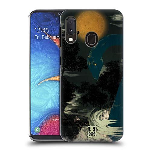 Head Case Designs Nessie Halloween Mix Harte Rueckseiten Huelle kompatibel mit Samsung Galaxy A20e (2019)