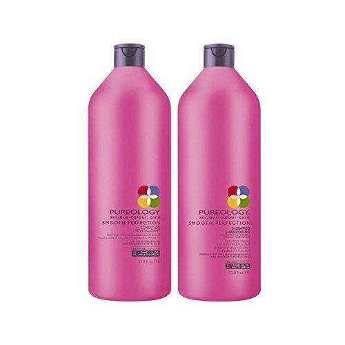 Pureology Smooth Perfection Shampoo And Conditioner (1000ml)
