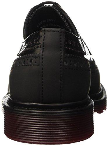 Cult Damen Sabbath Brogue-Schuhe Nero (Black/Bordeaux)
