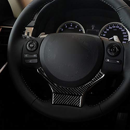 Preisvergleich Produktbild Republe Ersatz für Lexus IS250 NX200 200t 300h Lenkrad Dekor Carbon Fiber Adhesive Schmuck