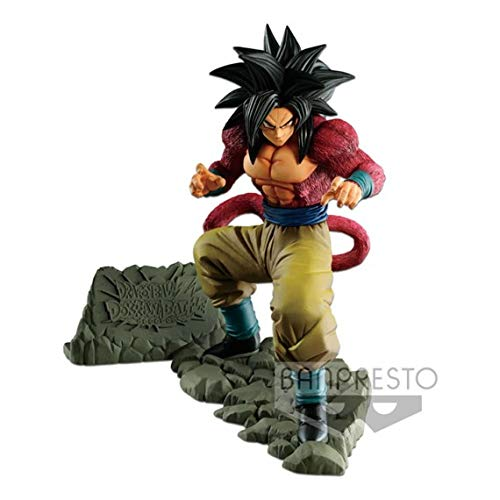 Bandai- Dragon Ball Estatua Goku Super Saiyan, (Banpresto 3296580826483)