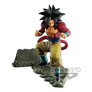 Bandai- Dragon Ball Estatua Goku Super Saiyan, (Banpresto 3296580826483)