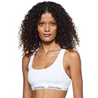 Calvin Klein Women's Bralette, White, Small