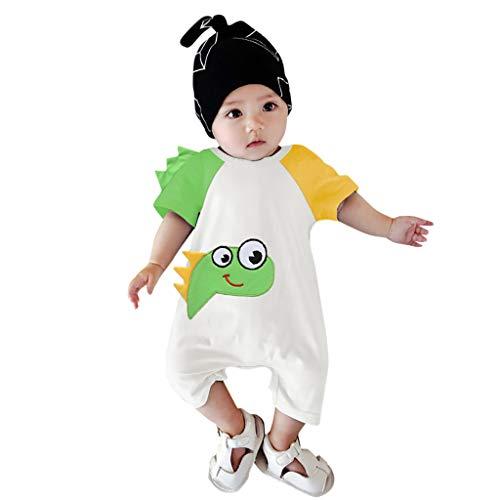 nes Overall Baby Kurzarm Jumpsuit Drucken Strampler Sommer Gemütlich Kinderkleidung ()