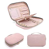 Aitravel Large-capacity jewelry storage bag for necklace, earrings, ring, bracelet etc