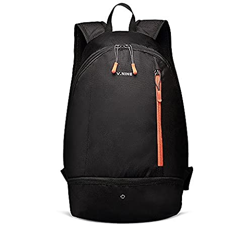 Esilife Sports Backpack, Gym Rucksack, Travel Bag with Shoes Compartment, Lightweight, Waterproof, 20L,
