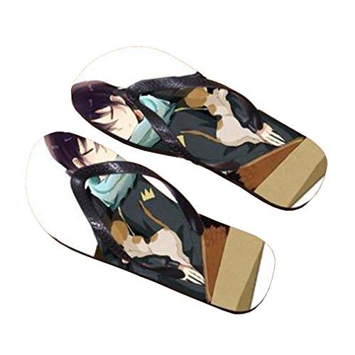 Bromeo Noragami Anime Unisex Flip Flops Zehentrenner Flip Pantoffeln 516