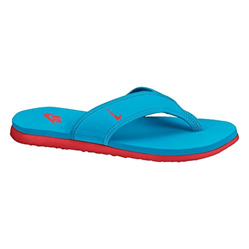 Nike Celso Thong Plus Zehensandale vivid blue-light crimson - 40