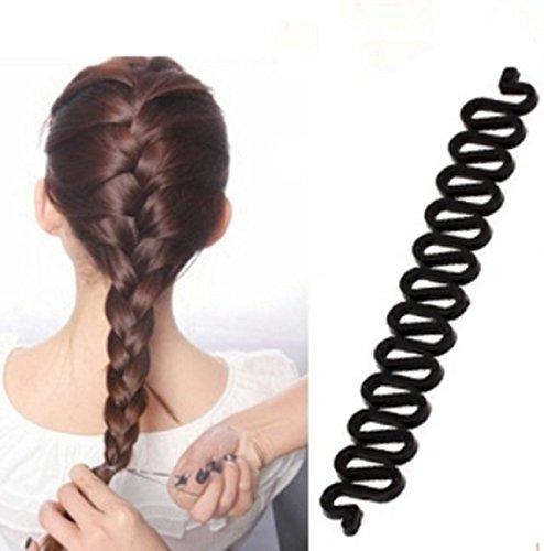 Herramienta para trenzado de cabello, ideal para hacer trenza francés, 1 unidad