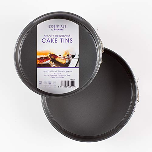 Everyday Baking Everyday Baking by Prochef 2 Spring Form Deep Cake Tins