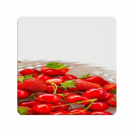 Warm Cherry-tv (Design Cherry And Strawberry Uncommon Smooth Handfeel Mouse Pad)
