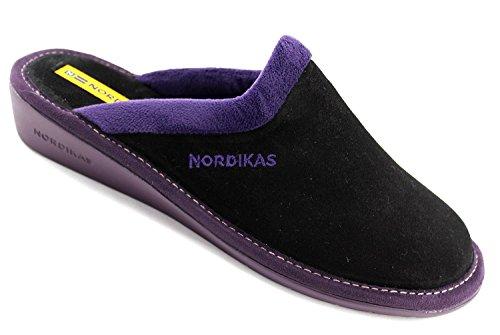 Nordikas Nere Pantofole 234 Mulo Più 8 Afelpado rwwpgqZnB