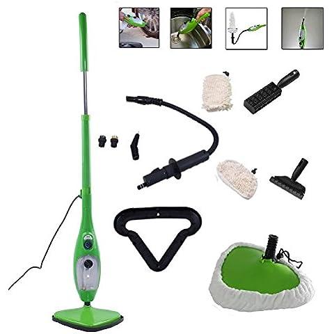 Steam Mop H2O X5Mopa eléctrica de Vapor para suelos duros y alfombras
