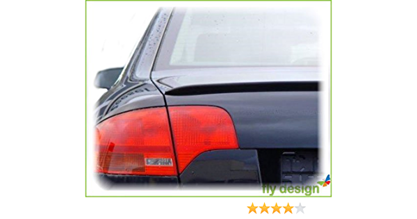 Car Tuning24 50469940 Tuning A4 8e B7 S4 Rs4 Heckspoiler Spoilerlippe Kofferraum Spoiler Lippe Hecklippe Auto