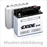 EXIDE 12N5,5A-3B Bike MIT Fresh Pack 12V 5,5AH 40A