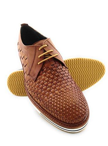 ZERIMAR Chaussures pour hommes de fabrication artisanale en Espagne avec cuir de vache de haute qualité cuir
